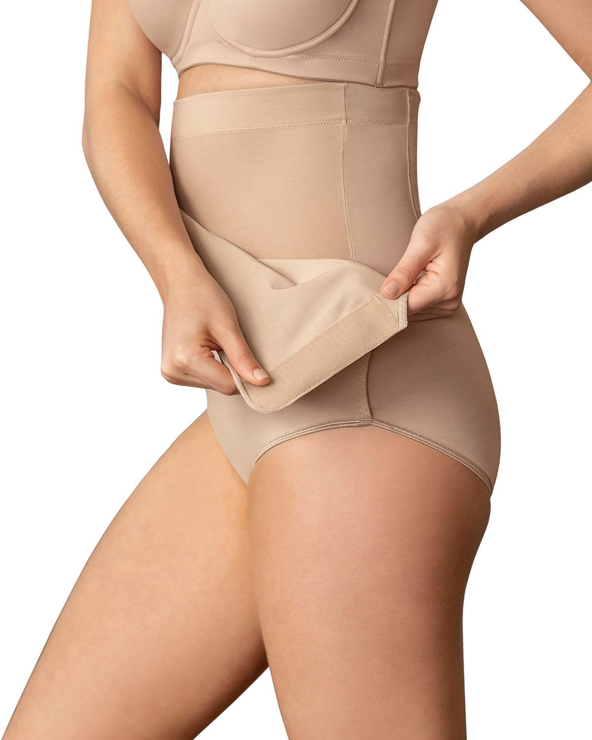 Post-Surgical Velcro Closure Firm Compression Panty