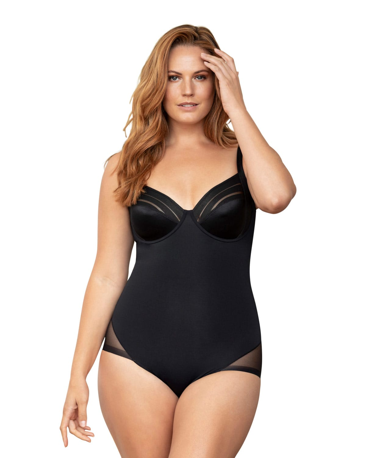 Firm Shaper Bodysuit - Underwire Cups