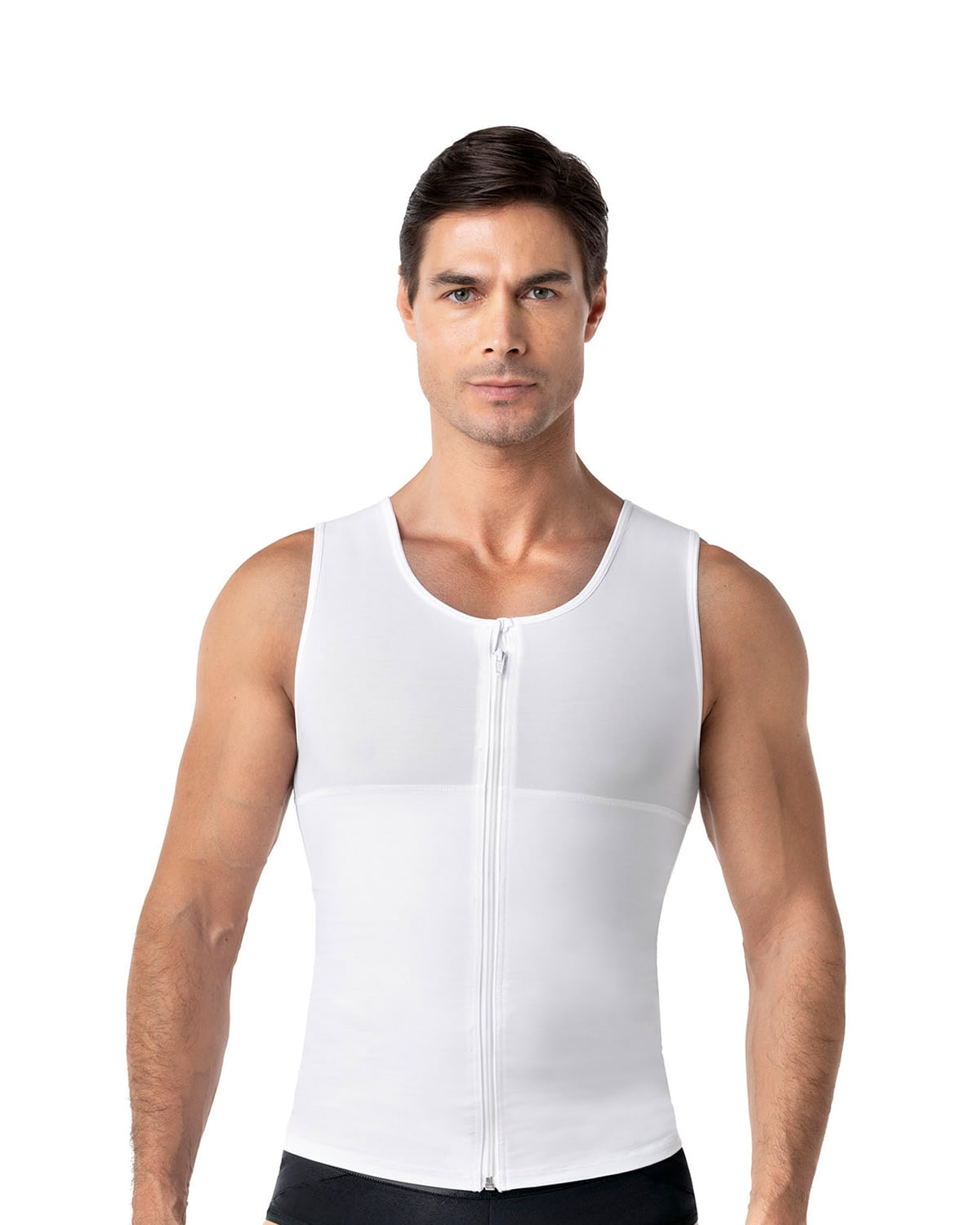 Men's Firm Body Shaper Vest with Back Support - Max/Force