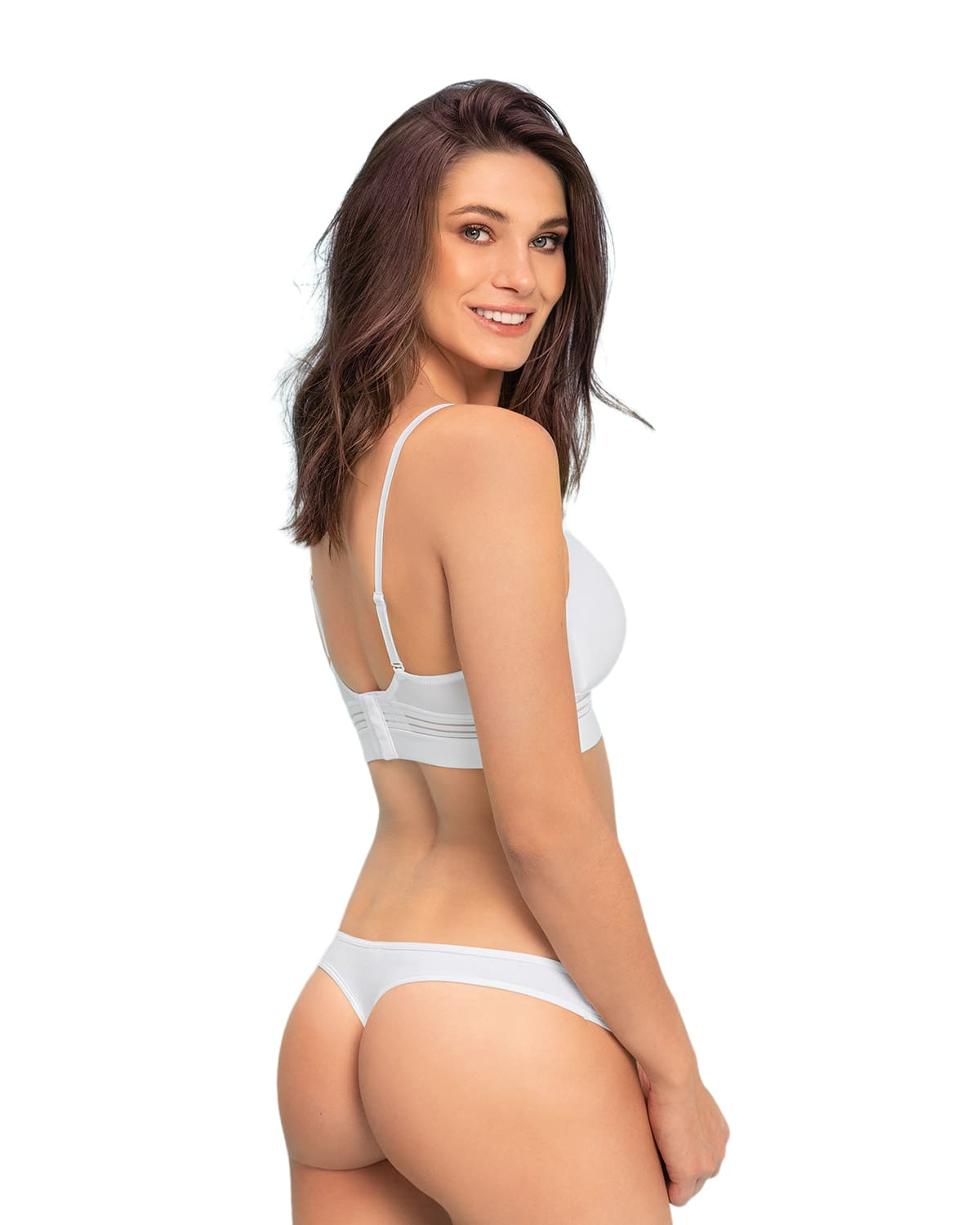 3-Pack Cotton Low-Rise Thong Panty