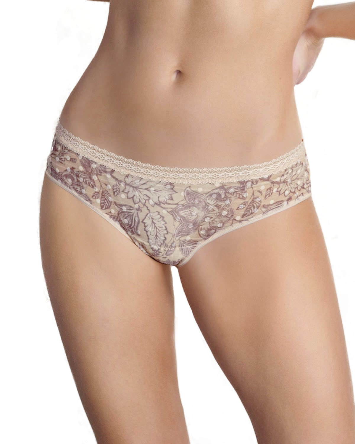2-Pack Tulle and Lace Cheeky Panties