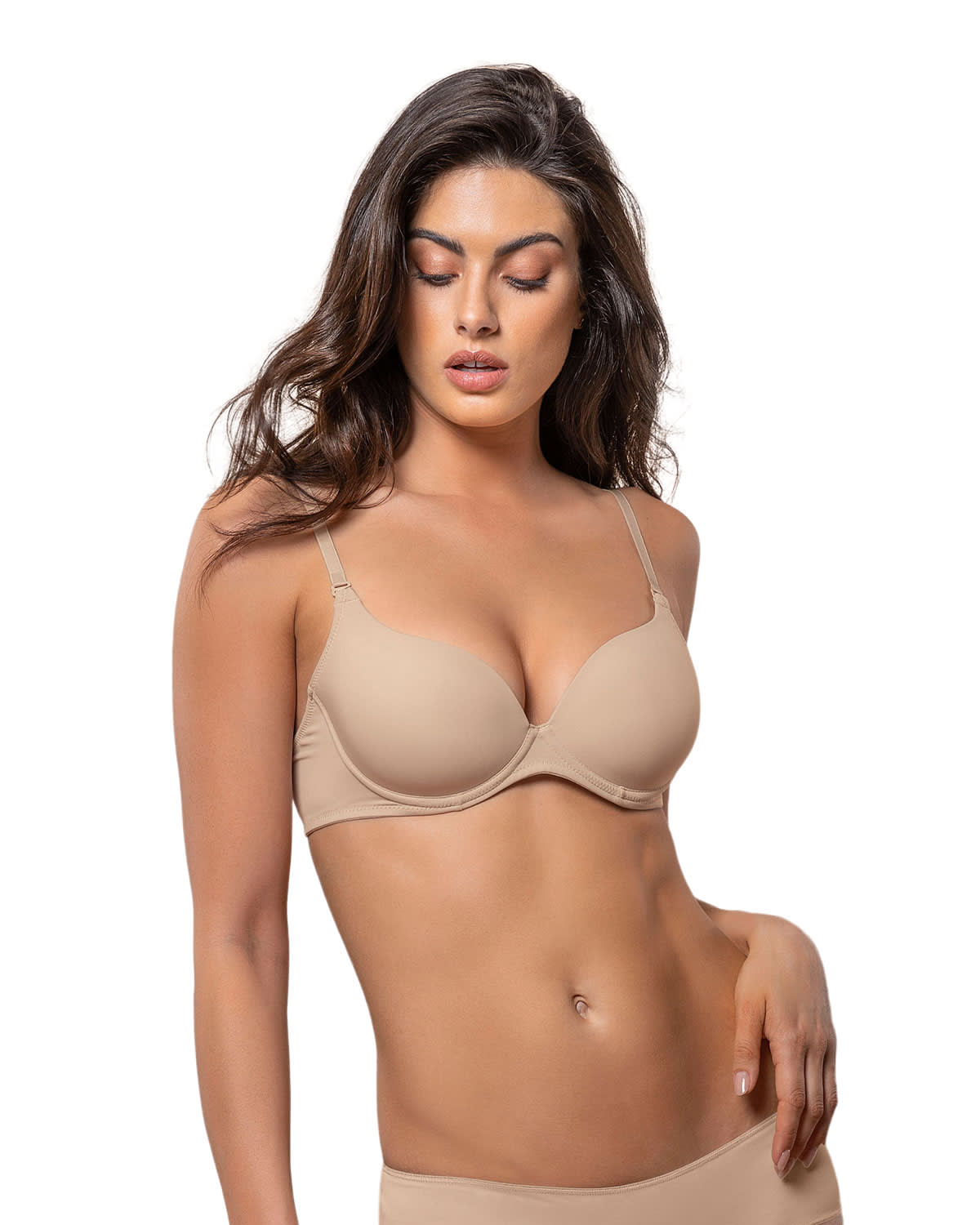 Moderate Push-Up Bra with Multiway Straps
