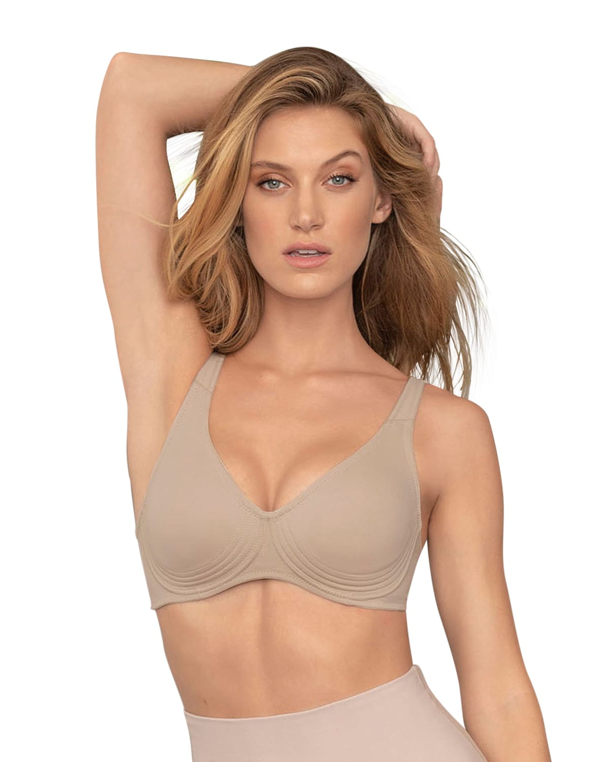 Wireless Triangle Bra with Supportive Design