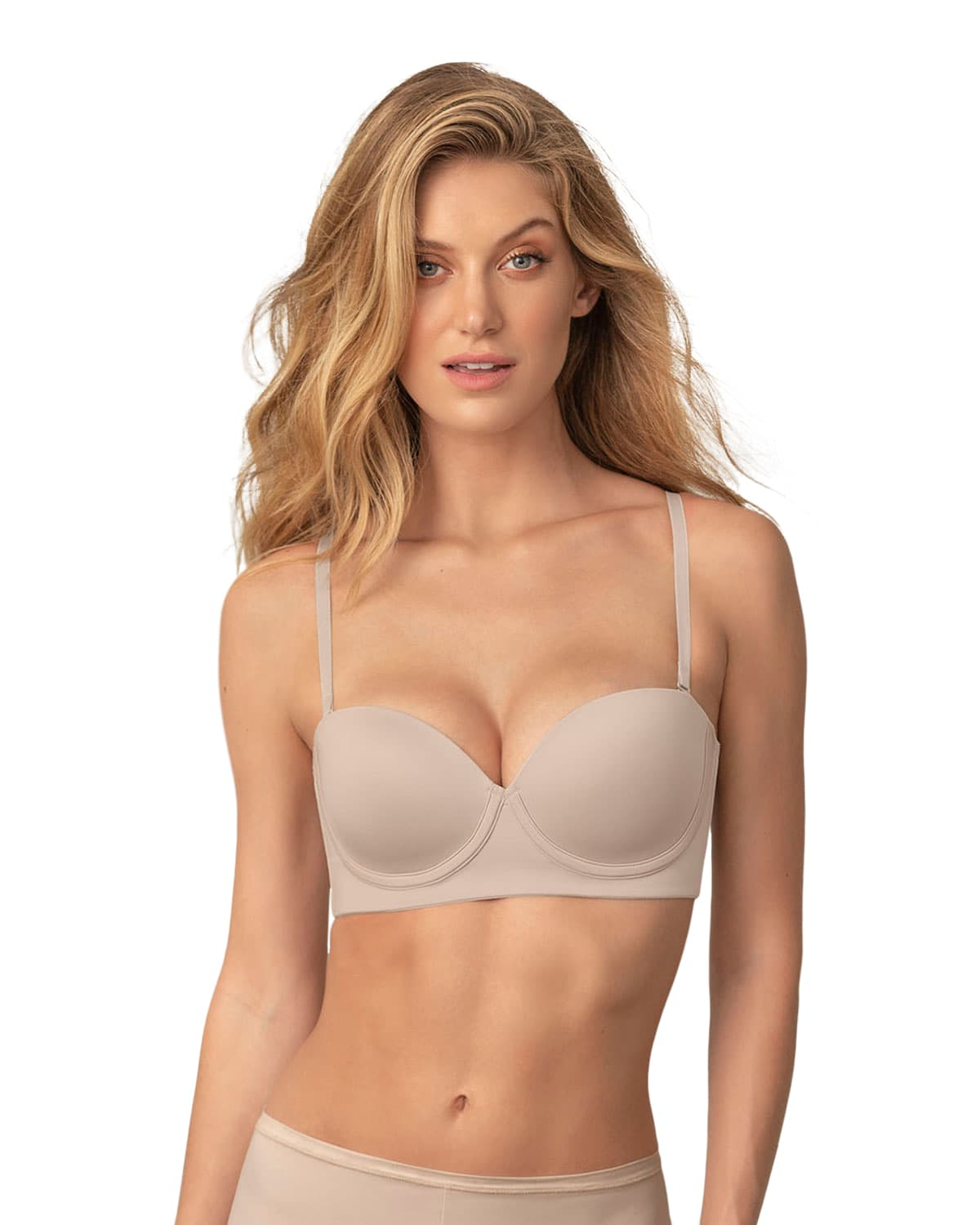 Natural Underwire Push Up Bra