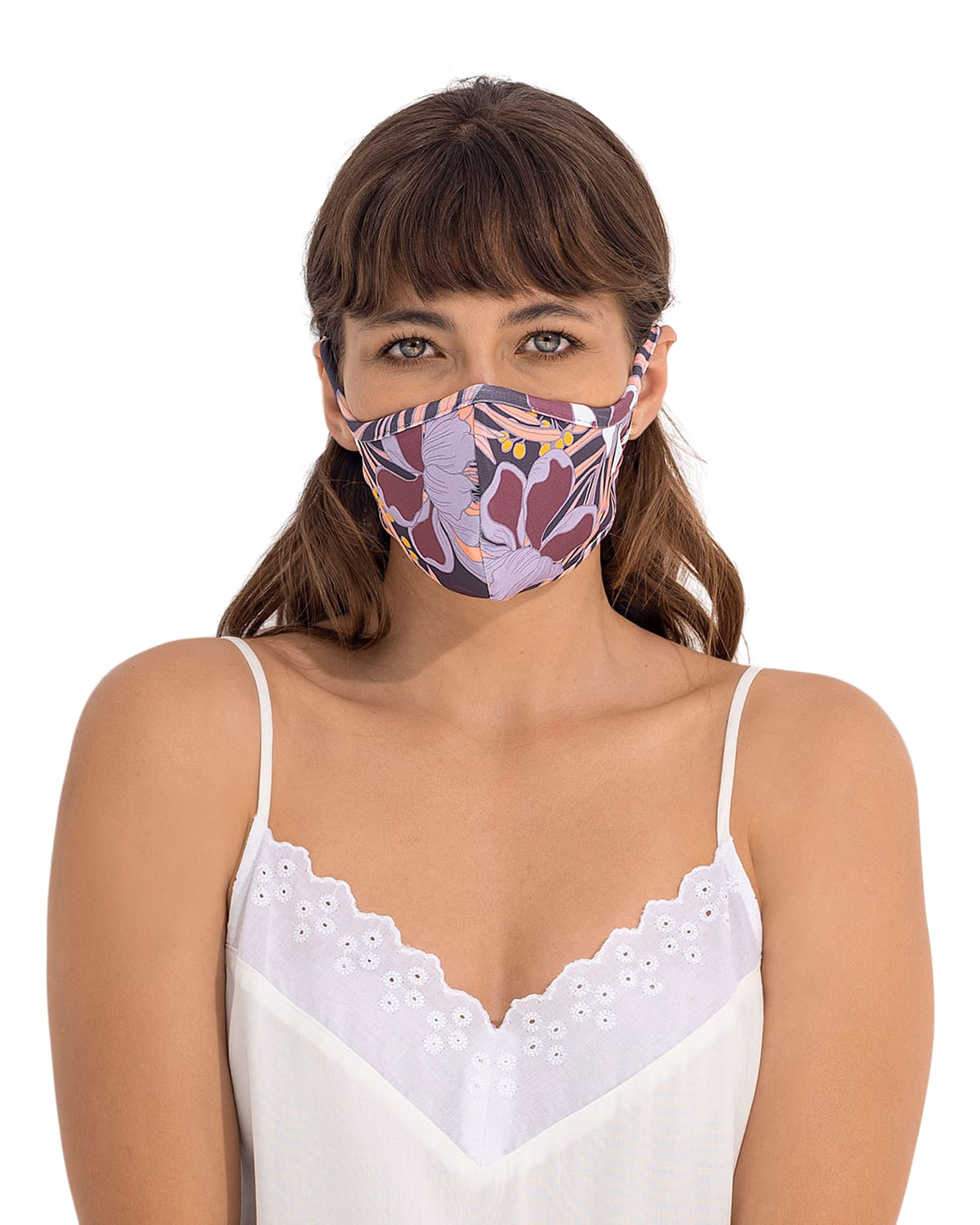 Airtight, Triple-Layered Face Mask with Anti-Fluid Technology - Unisex