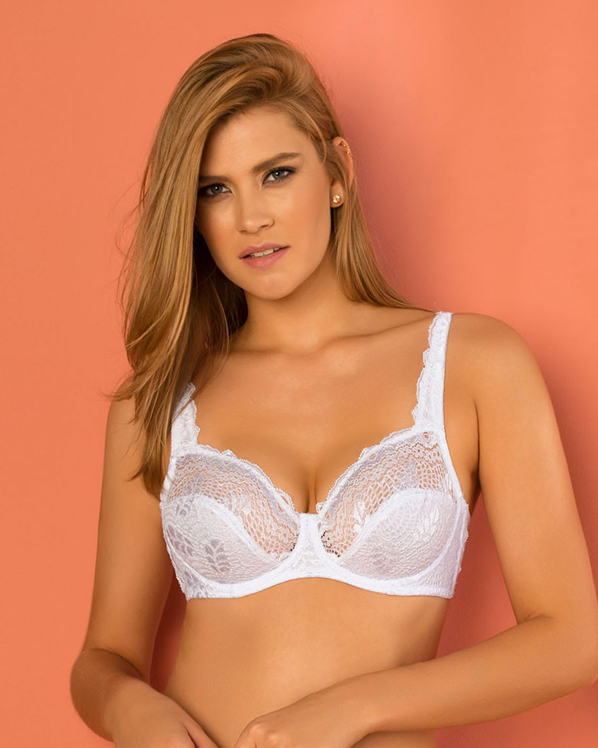 Most Popular Full Coverage Support Bra in Lace