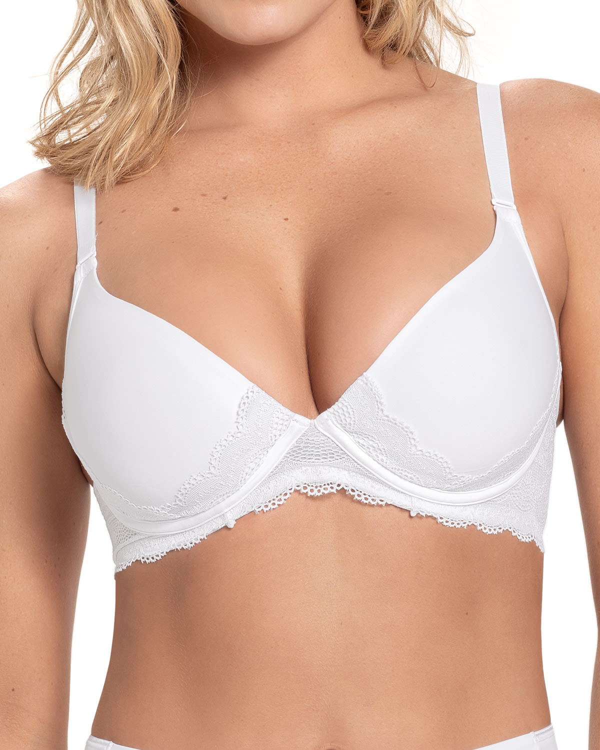 Light Lace Underwire Contour T-Shirt Bra