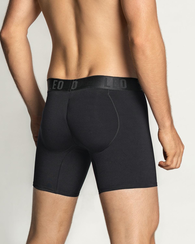 Leo Men's Padded Butt Enhancer Boxer Brief