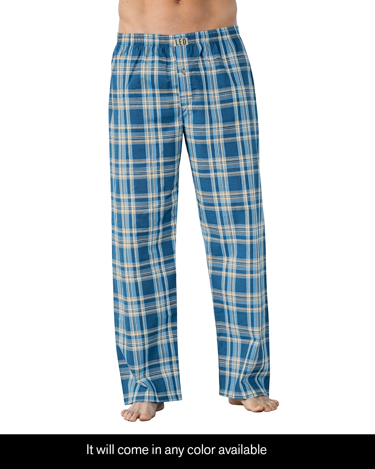 Men's Lounging Pant - Pattern may Vary According to Availability