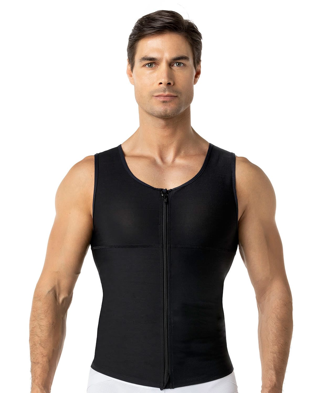 Men's Firm Compression Post-Surgical Shaper Vest