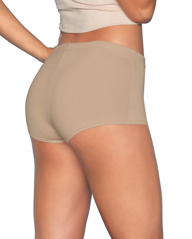 3-Pack Leonisa Boyshort Comfy Panties in Cotton
