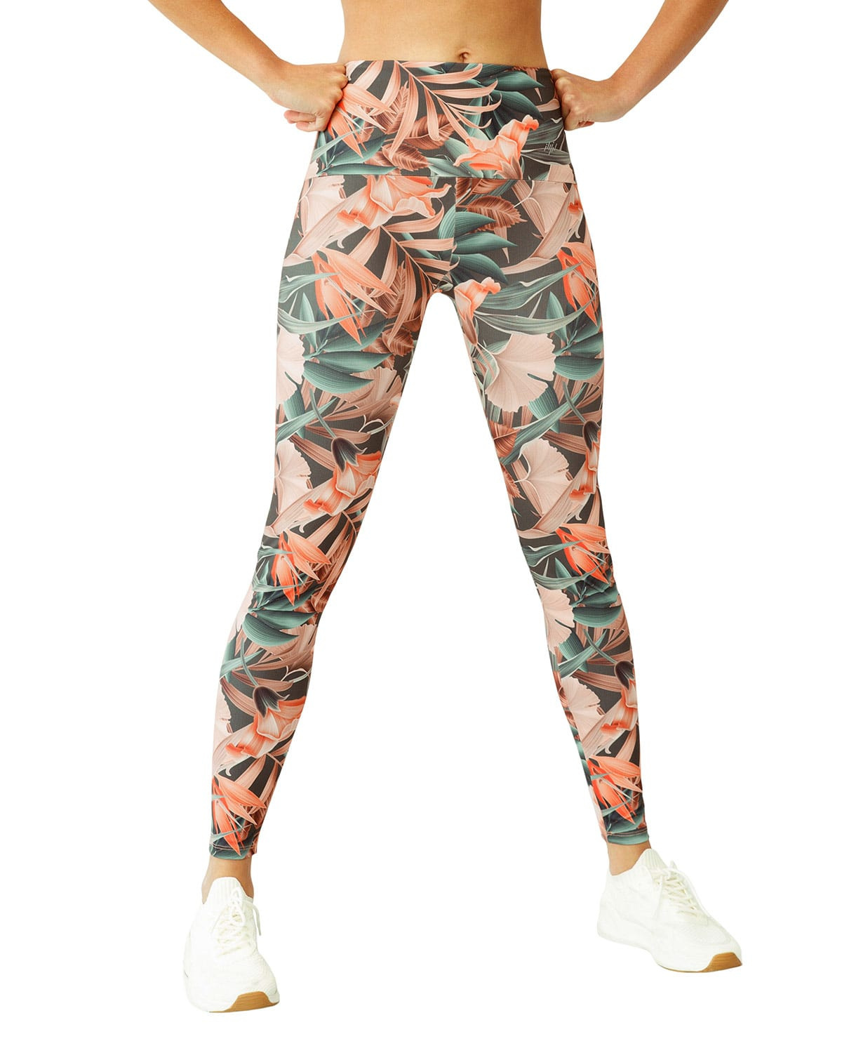 Eco-Friendly Abstract Graphic Slimming Legging