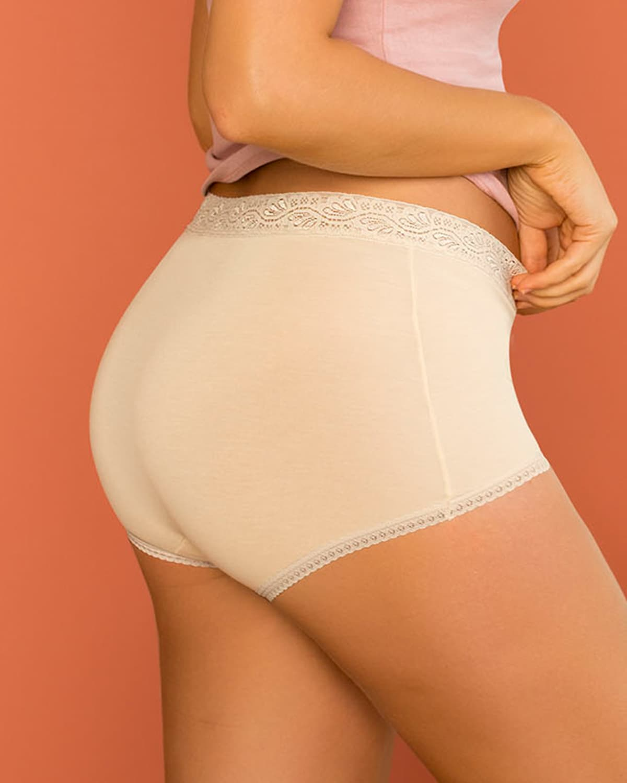 3 Full Hi-Waist Brief Panties