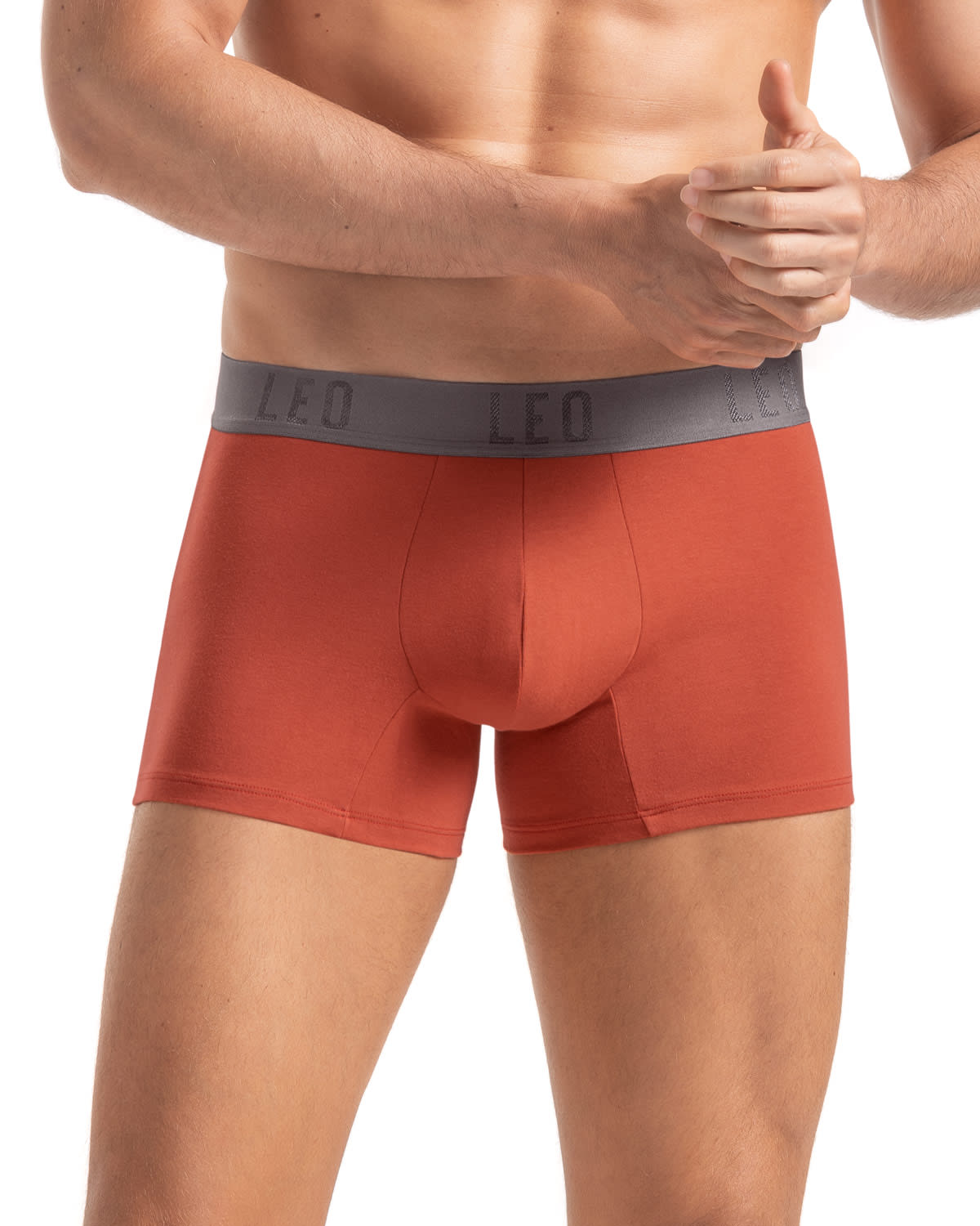Leo 2 Pack Stretch Cotton Boxer Brief