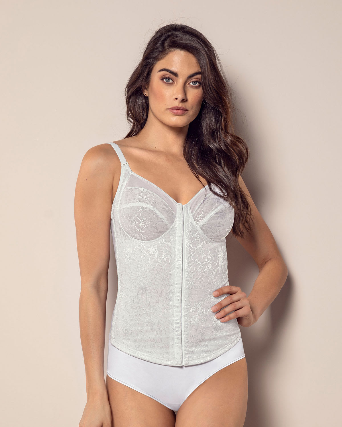 Moderate Shaping Corset + Built-In Bra