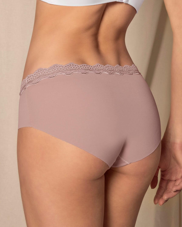 Midrise Lace Waistband Cheeky Panty