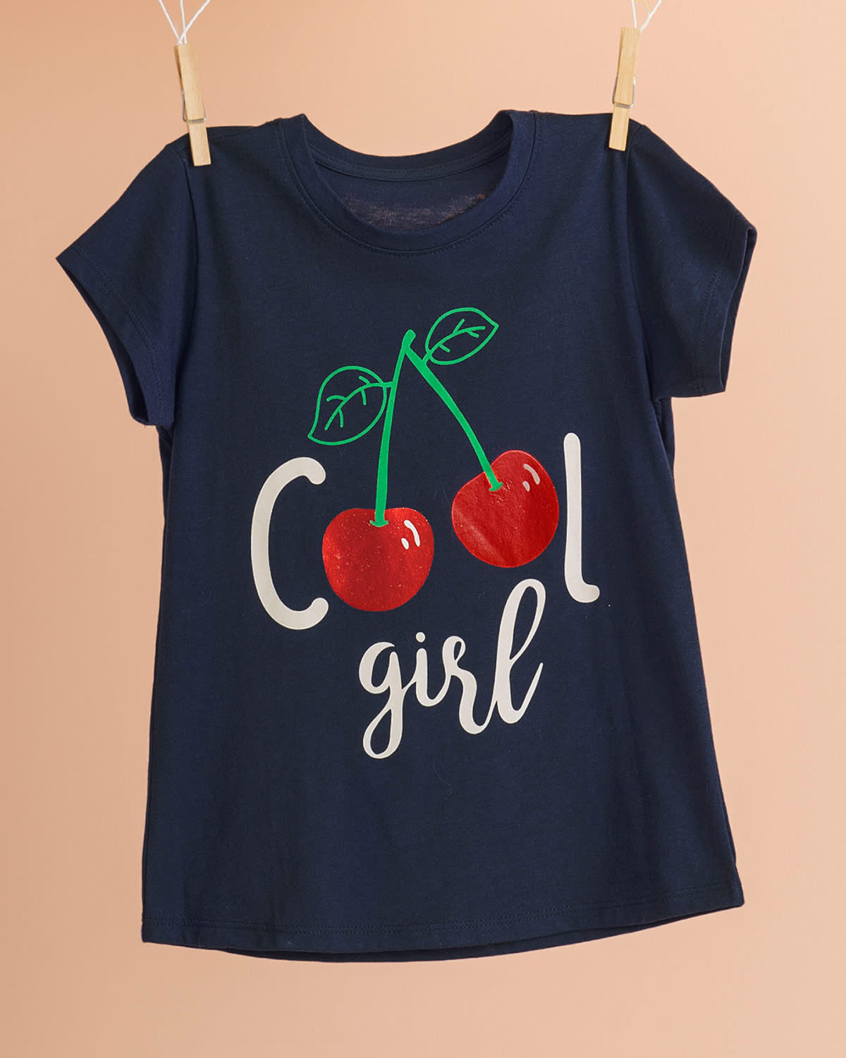 Cherry Graphic Tee for Girls