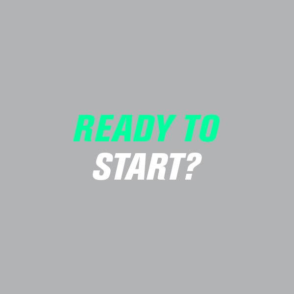 ¿Estas lista para empezar?
