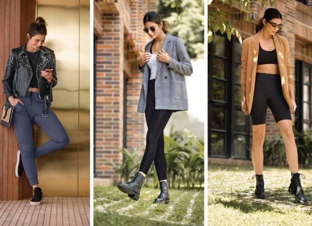Women wearing blazers