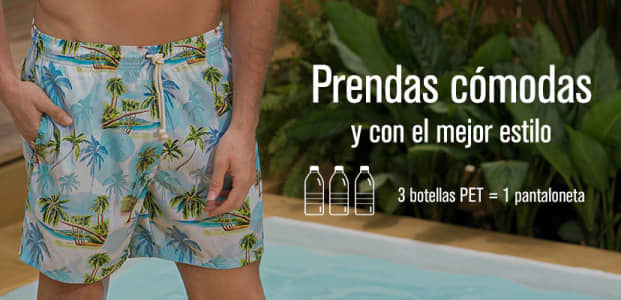 Pantalonetas de Baño para Hombre LEO - Leonisa