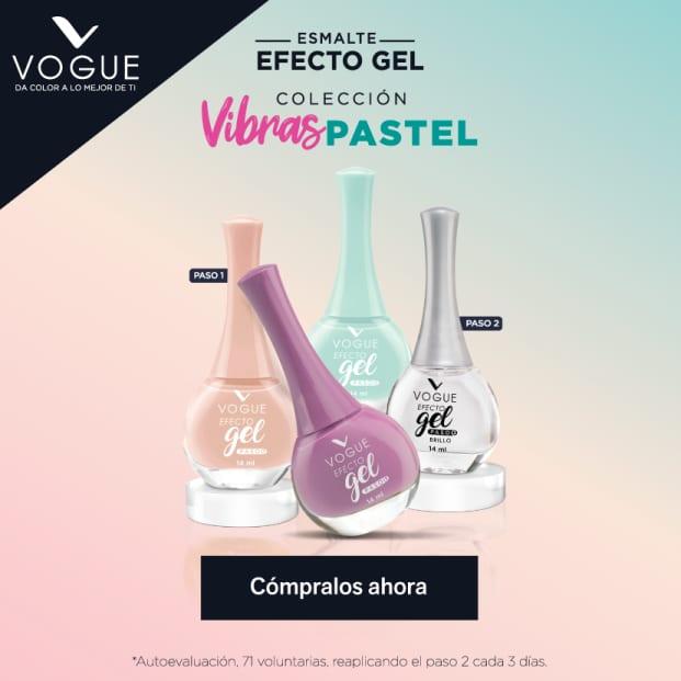 Vogue esmaltes efecto gel