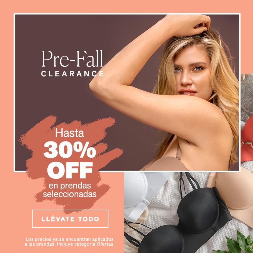 Pre-Fall hasta 30% OFF