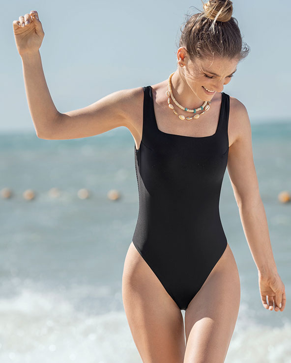 A. A one-piece swimsuit