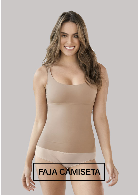 Faja Camiseta Invisible de Control Localizado - Leonisa