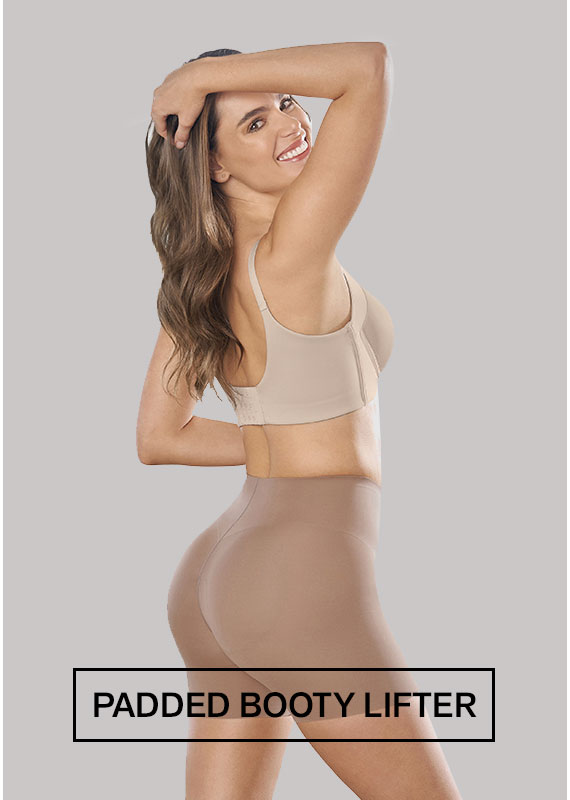 Undetectable Padded Booty Lifter Shaper Short