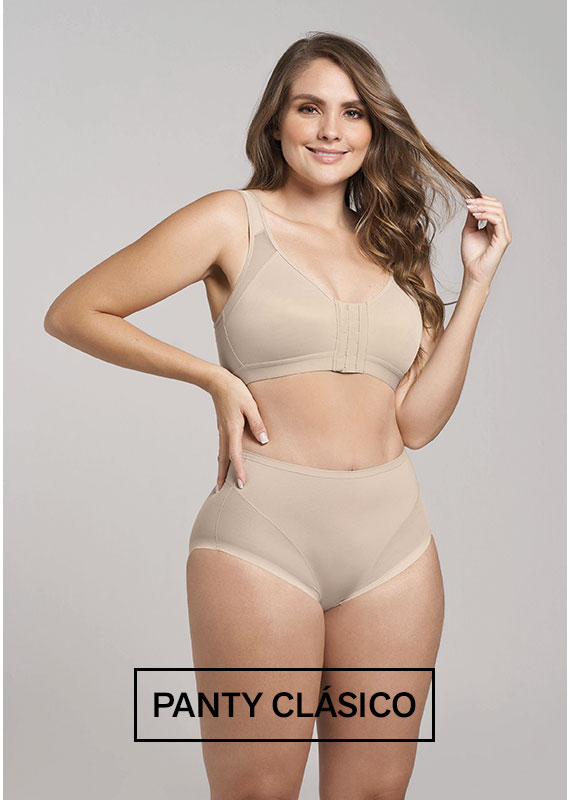 Panty Clásico invisible con Tul - Leonisa