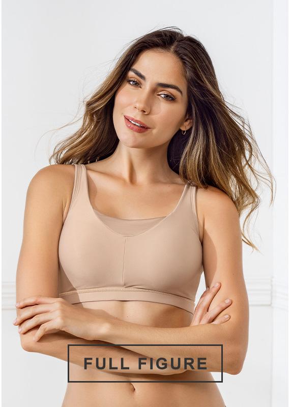 Full figure bras - Leonisa