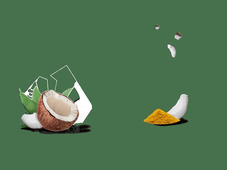 Bio-Knusperbrot Aperitif Kokos-Curry