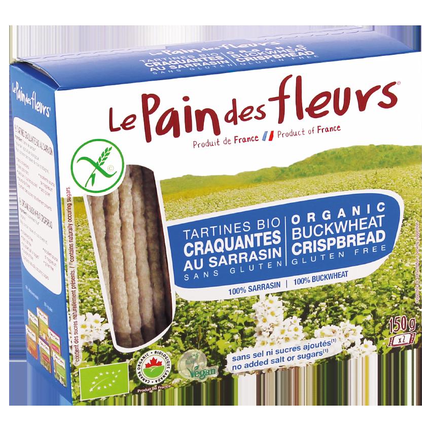 Tartines Craquantes  Bio au Sarrasin, sans sel ni sucres ajoutés