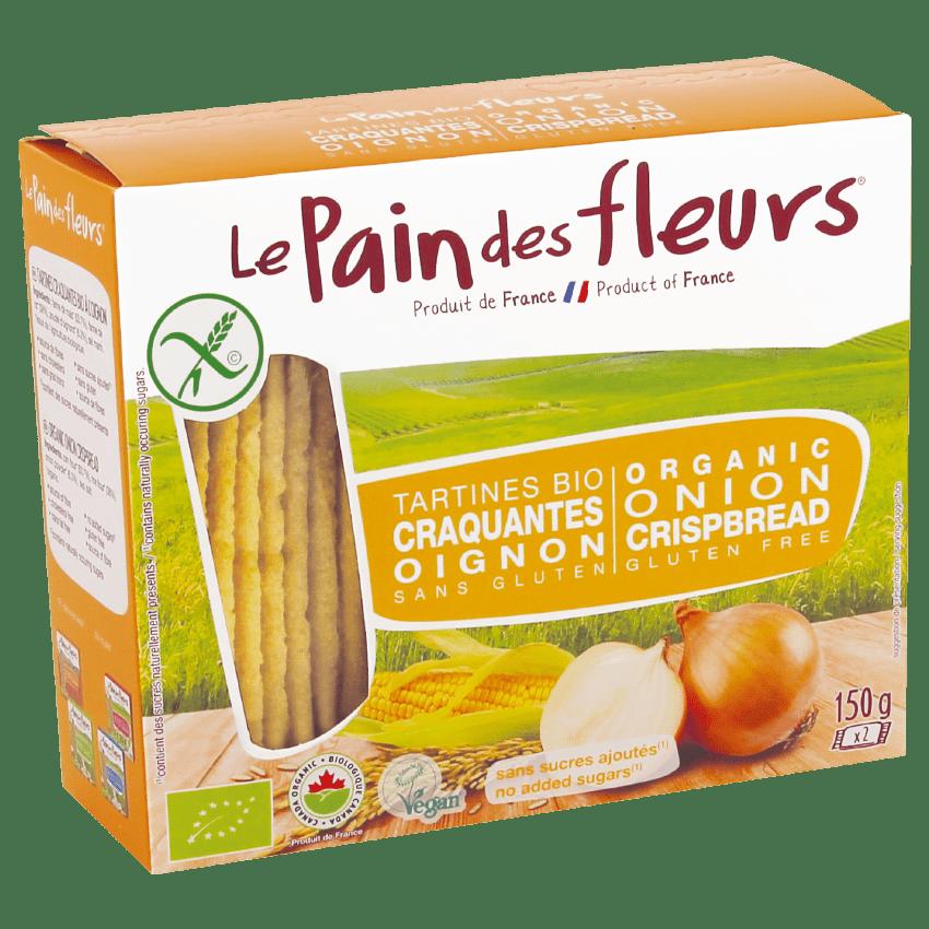 Tartines Craquantes Apéritif Bio à l'Oignon