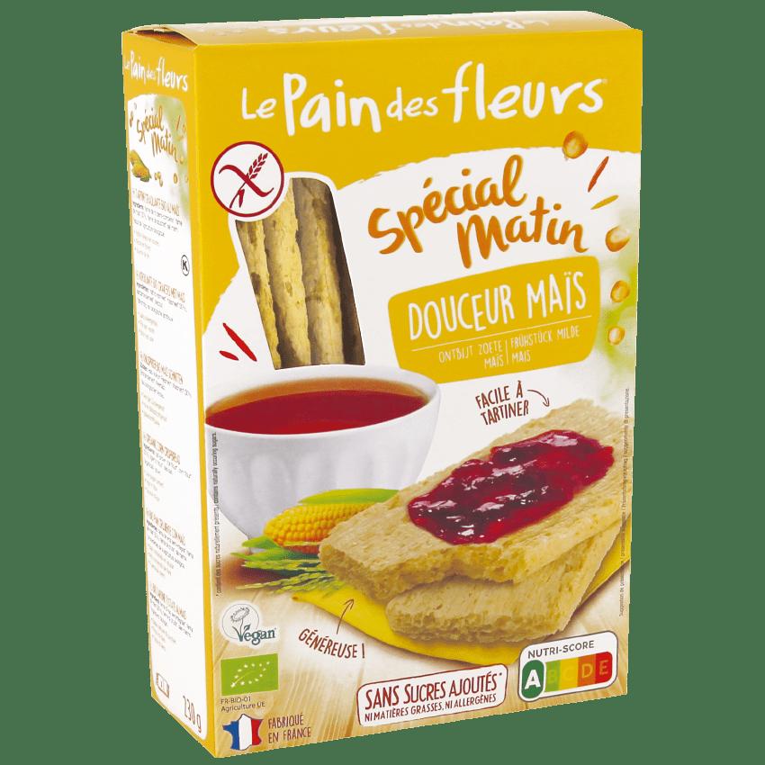 Organic Corn Crispbread SPECIAL MATIN