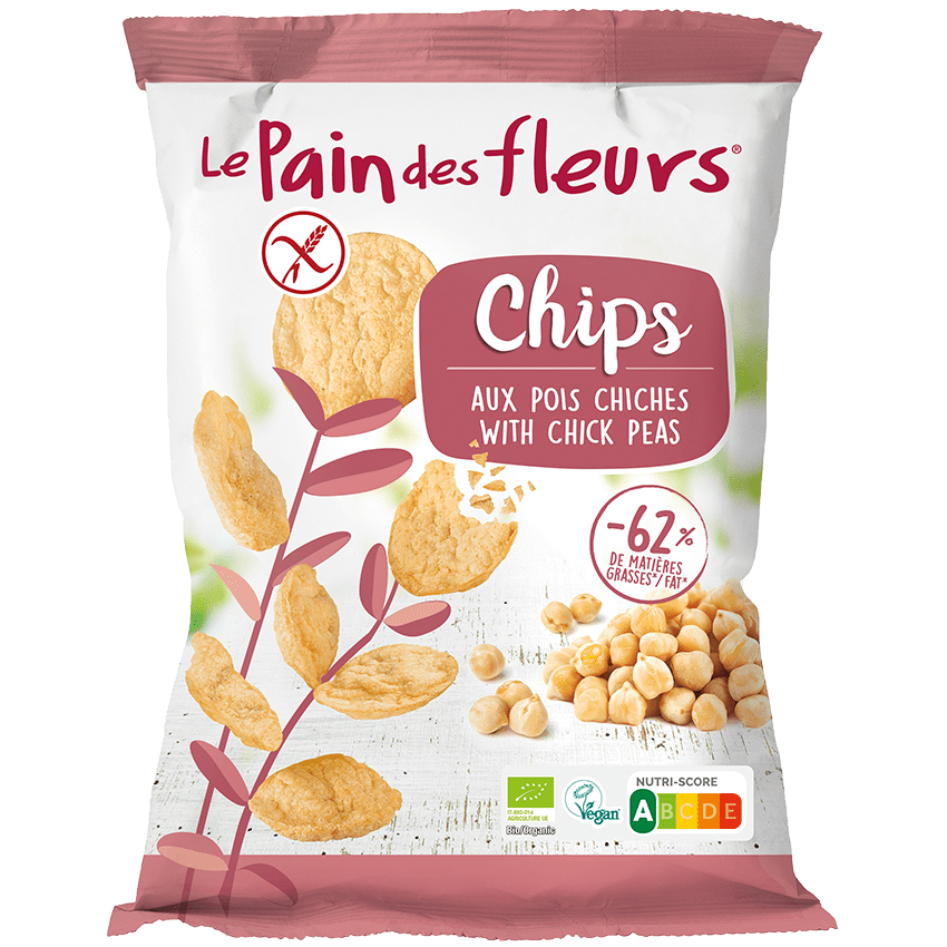 Chips de Garbanzos Ecológicas