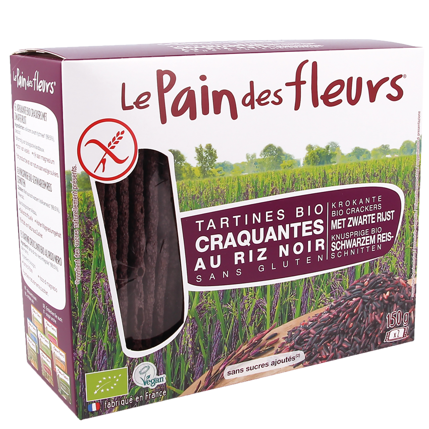 Tartines Craquantes Bio au Riz Noir