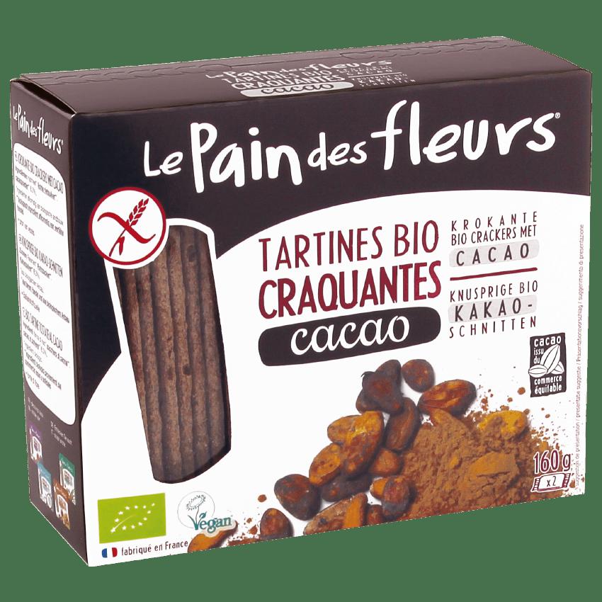 Tartines Craquantes Bio au Cacao