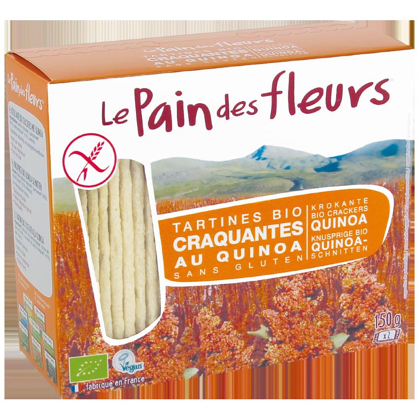 Tartine croccanti bio alla Quinoa