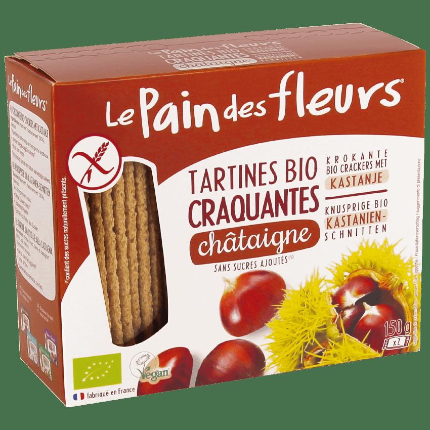 Tartine Croccanti Bio alle Castagne