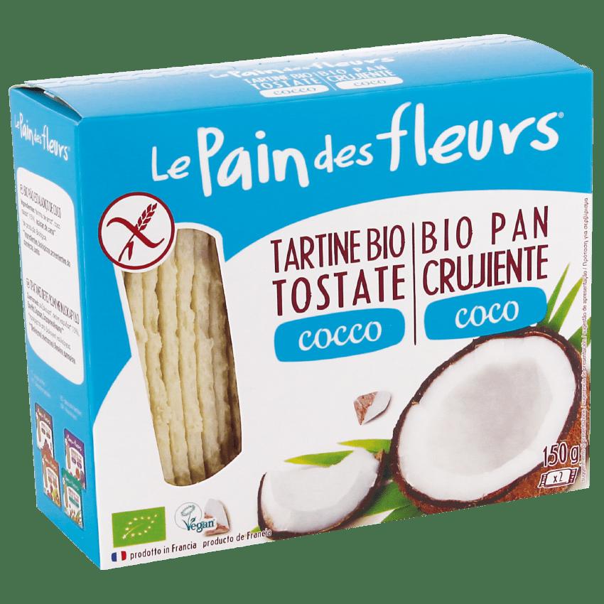 Tartine Croccanti Bio al Cocco