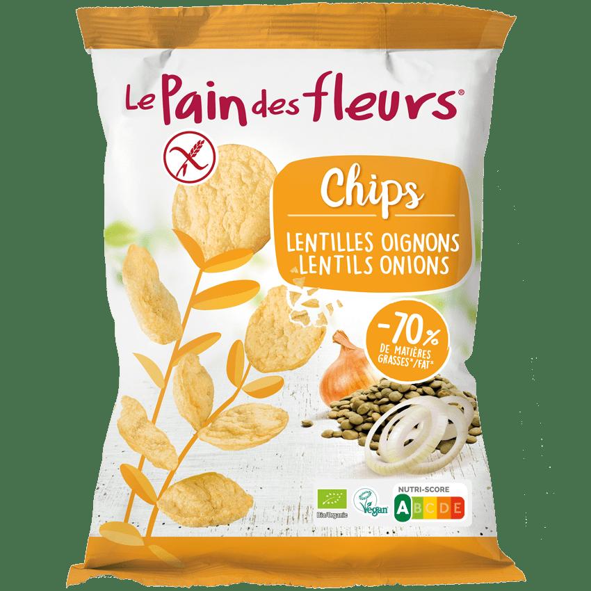 Chips Bio Lentilles Oignons