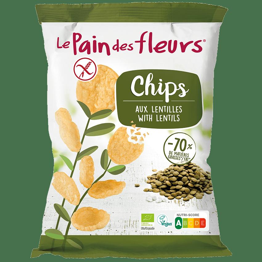 Chips Bio aux Lentilles