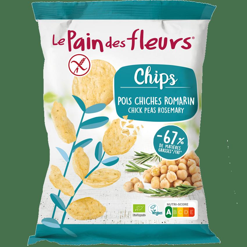 Chips Bio Pois Chiches Romarin