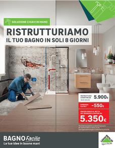 Leroy Merlin Porta Di Roma Arredo Bagno.Ristrutturazione Completa Del Bagno Con Bagno Facile Leroy Merlin