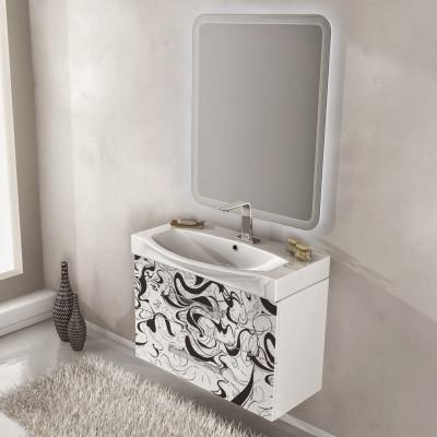 Mobile bagno virginia bianco fantasia l 104 cm: prezzi e offerte ...