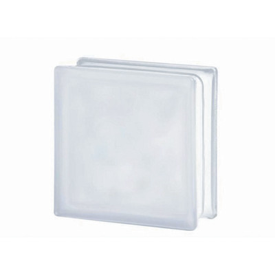 Vetromattone bianco ondulato satinato 19 x 19 x 8 cm: prezzi e ...