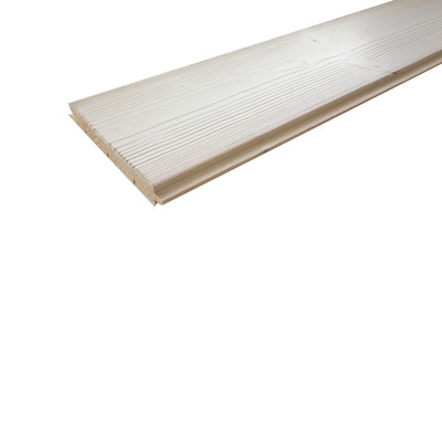 Perlina abete spazzolato bianco 120 x 2000 mm: prezzi e offerte online