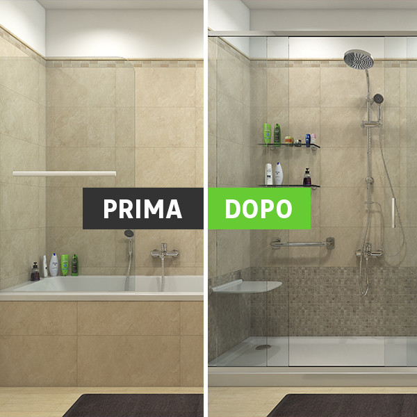 Verniciare vasca da bagno leroy merlin design casa - Da vasca da bagno a doccia ...
