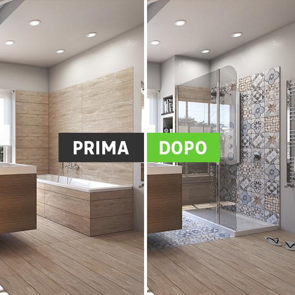 Trasformare Vasca Da Bagno In Doccia: Trasformare vasca in doccia Bagno Come trasformare una.